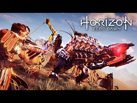 Horizon Zero Dawn - BEST WEAPONS!! (HORIZON ZERO DAWN Gameplay Walkthrough Part 5)