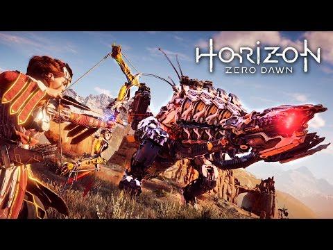 Horizon Zero Dawn - BEST WEAPONS!! (HORIZON ZERO DAWN Gameplay Walkthrough Part 5)