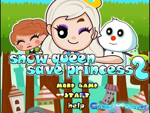 Snow Queen Save Princess 2 (Full Game)
