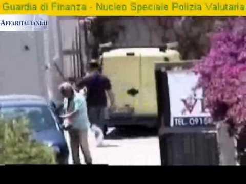 """Palermo: operazione antimafia denominata """"architetto"""" la guardia di finanza esegue quattro arresti"""
