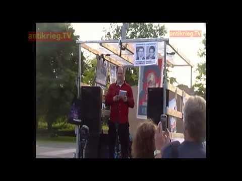 Free Snowden Demo Berlin - Andy Müller Maguhn - 4. Juli 2013
