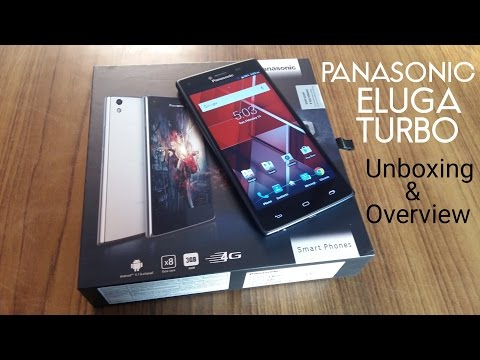 Panasonic Eluga Turbo Unboxing and First Look