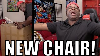 NEW GAMING CHAIR! Unboxing