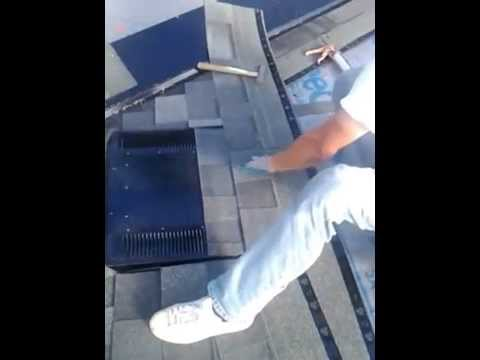 Installing O'HAGIN Vent, roofer Arlington Wa, roofer 98223