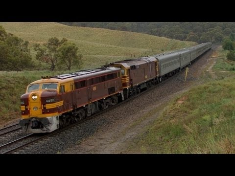NSW Railways - Main Southern Line: Australian Trains