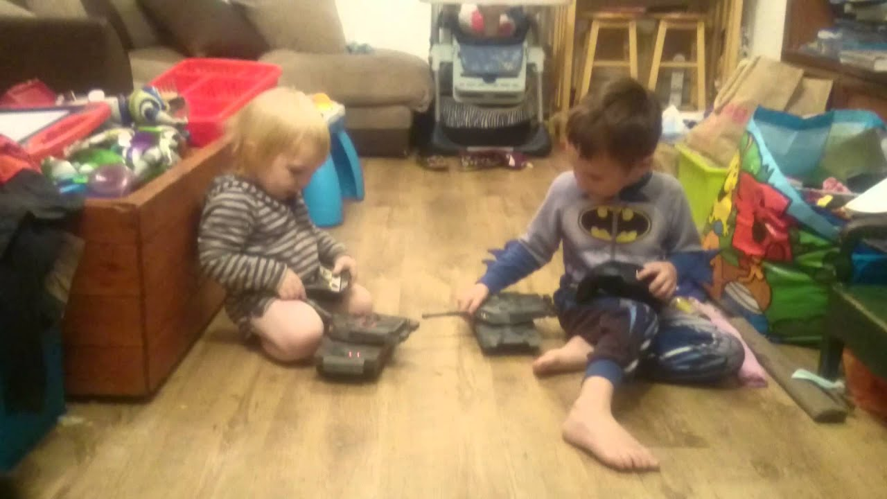 The Boys Playing Tanks Before Bed Youtube