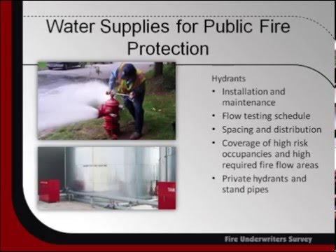 How Fire Service Affects Property Insurance (E1)