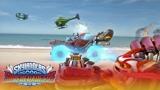 "Official Skylanders SuperChargers: ""Large and SuperCharged"" Launch Trailer"
