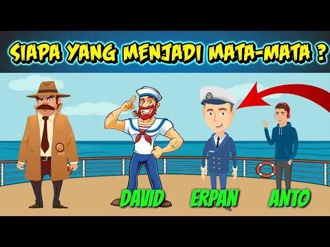 4 Riddle | Dapatkah Anda Memecahkan Kasus Kejahatan & Teka Teki logika | Riddle Indonesia detektif