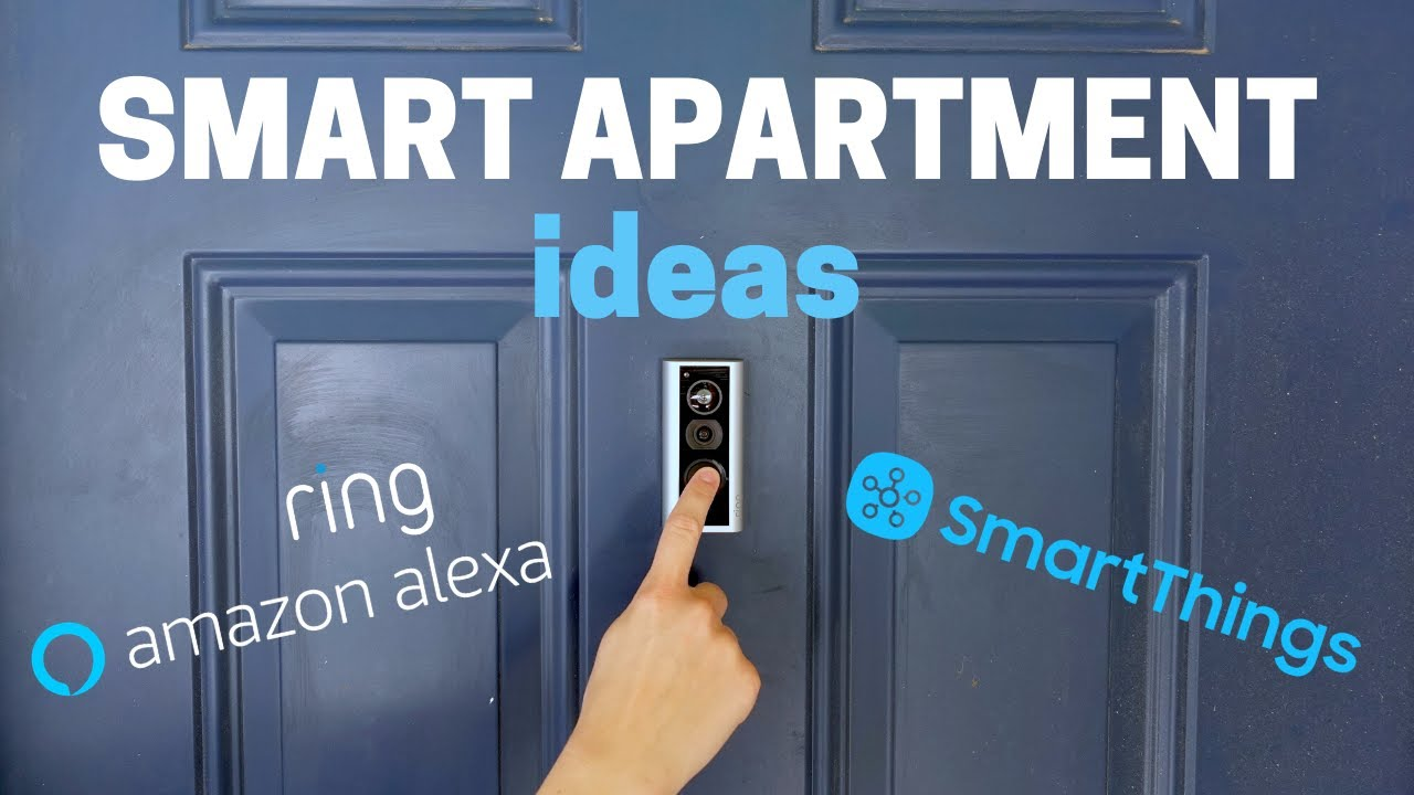 Smart Apartment Setup - 10+ Ideas that are EASY to move
