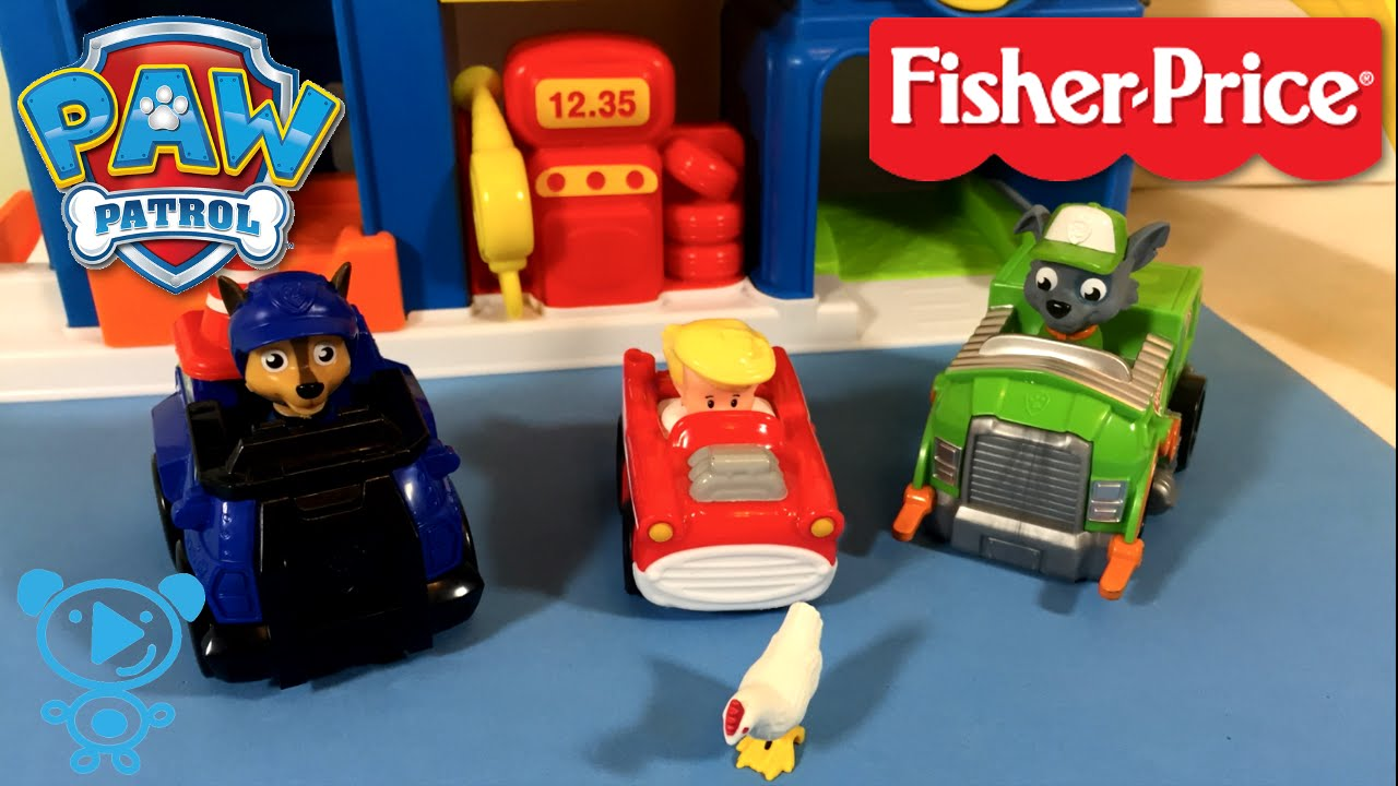 Little People Garage : Fisher price little people racin ramps garage kids fun