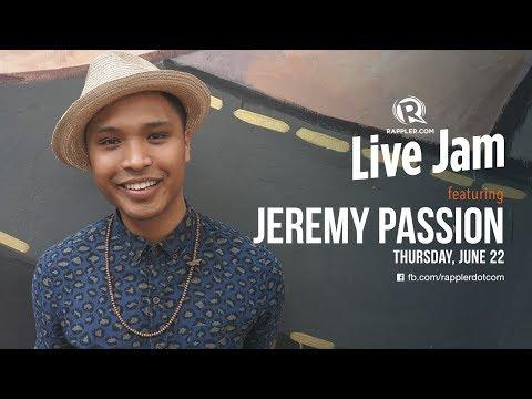 Rappler Live Jam: Jeremy Passion