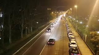 Ourense no se libra de la operación retorno: tráfico lento en la N-120 a su paso por la ciudad