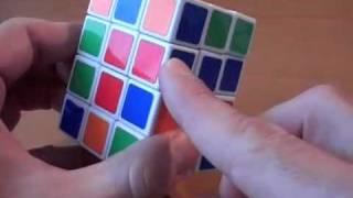 Как собрать кубоид 3х3х4 / How to solve cube 3x3x4 ч.1/2