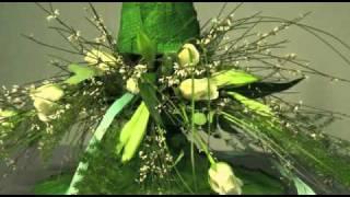 Presentación arte floral, Rosa Valls