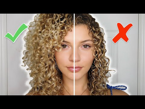 CURLY HAIR STYLING MISTAKES TO AVOID + TIPS FOR VOLUME AND DEFINITION (AIR-DRY)