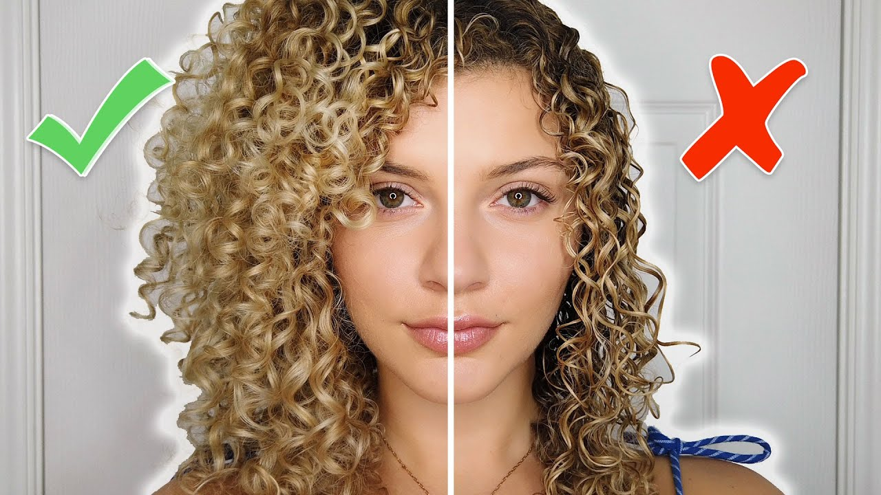 curly hair styling mistakes