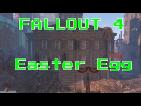 Fallout 4 Easter Egg Secret Room| Custom House Tower