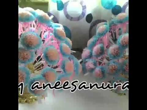 bunga telur tisu by aneesanuraim