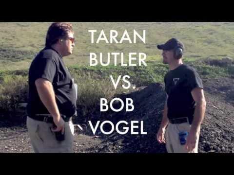 Taran Butler VS. Bob Vogel - Fastest Duel Shooting Steel!!!