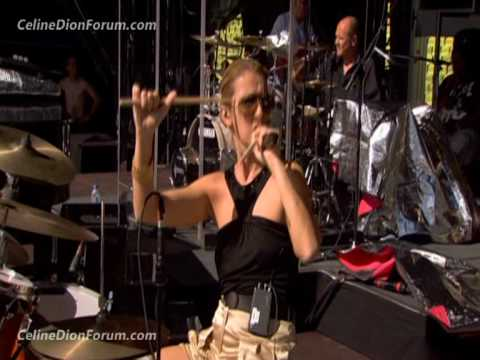 Celine Dion Through The Eyes Of The World (NEW footage not in movie) Part 1/2