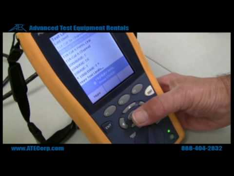 FLUKE DTX-1800 CABLE ANALYZER WINDOWS XP DRIVER DOWNLOAD