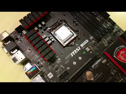MSI Z97 Gaming 3 Motherboard - Bent Pins, Corrosion & Moldy PCB - Dead Board Repair Attempt