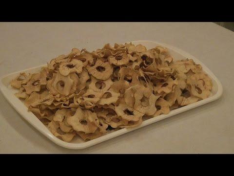 Сушеные яблоки в мультиварке рецепт