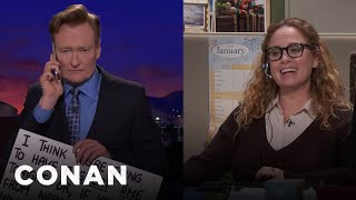 Conan Returns A Joke  - CONAN on TBS
