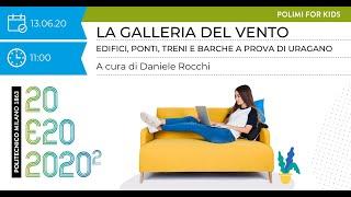Polimi For Kids – Galleria del Vento. Edifici, ponti, treni e barche a  prova di uragano (D. Rocchi)