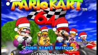 Especial navideño con Mario Kart