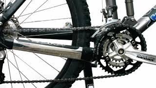 Mazání řetězu • na kole