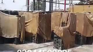 Golden steel mills, block making machine in pakistan/ Gsm 15 block machine production video(8)