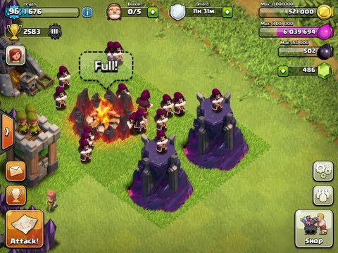 Clash Of Clans - Level 8 Wizard Towers + Level 6 Wizards Update!!!!!!!