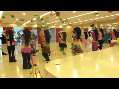 "Yana Tsehotskaya - Artem Uzunov - ""I wanna dance"" Drum solo workshop in China!"