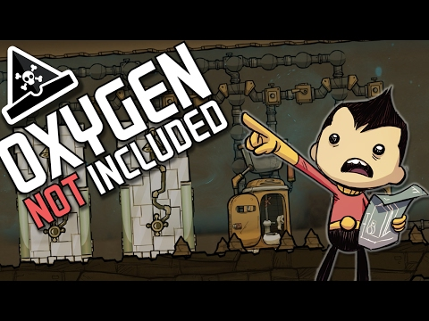 LAYING PIPES! Oxygen Not Included gameplay 3 - awesome new game!