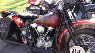 Motorcycle Cannonball Run 2014-09-08 Afternoon Appleton H-D, Clarksville, Tennessee, part 2