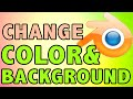 How To Change Background Color of Template Blender Tutorial