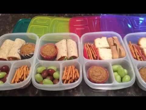 BACK TO SCHOOL LUNCHES | Gluten Free | Vegetarian and Vegan options