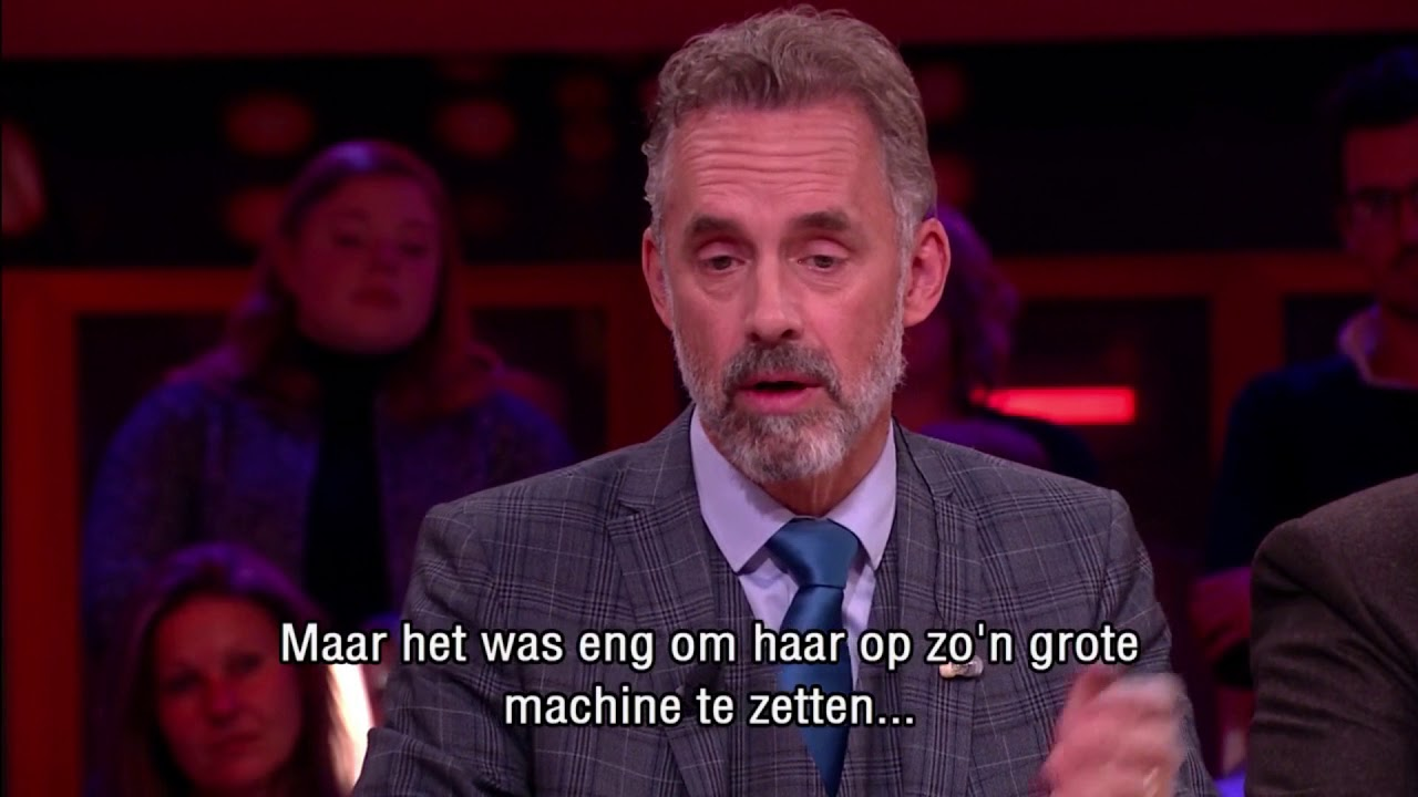 Jordan Peterson: 'Never use your illness as an excuse' - RTL LATE NIGHT  with TWAN HUYS