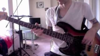 Fu Manchu - Godzilla (bass cover)