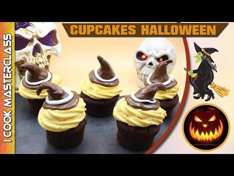✅-cupcakes-halloween-chapeau-de-sorciere-!-le-cupcake-le-plus-diabolique-pour-halloween-!