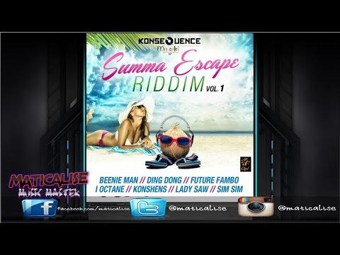 Summa Escape Riddim Mix {Konsequence Muzik} [Dancehall] @Maticalise