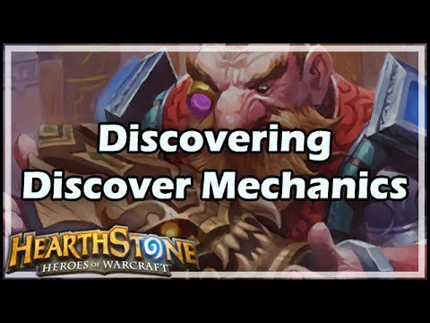 [Hearthstone] Discovering Discover Mechanics