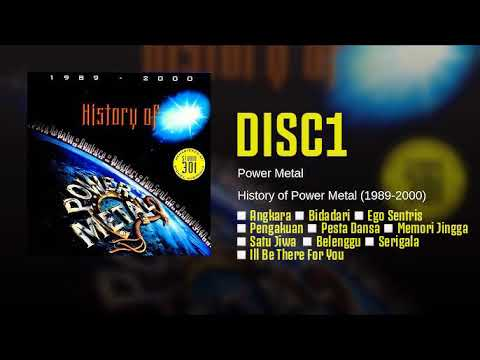 Playlist - Album History of Power Metal . Disc1.
