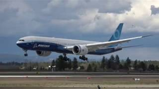 4K | Boeing 777x in Spokane, Washington, Day 8 | T&Gs