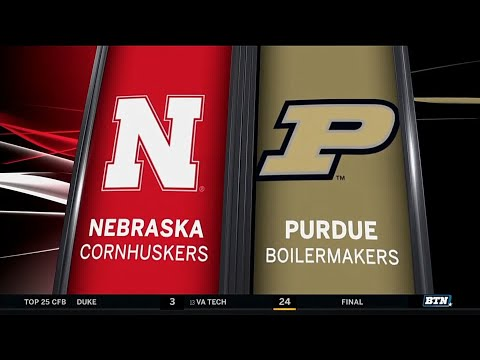 Nebraska at Purdue - Football Highlights