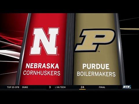Nebraska at Purdue - Football Highlights