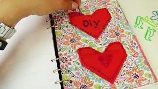 Filofax Ideen | Herzaufbewahrung für Notizzettel, Büroklammern oder Sticker selber basteln | Origami