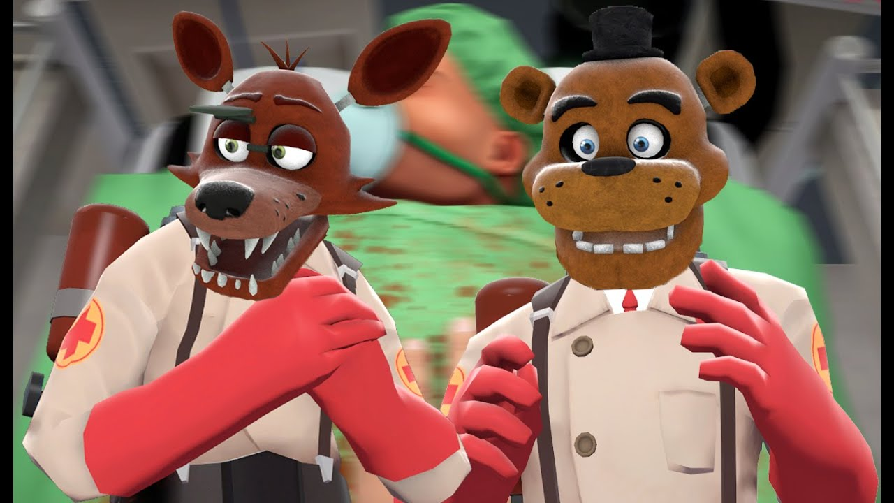 foxy and freddy play  surgeon simulator